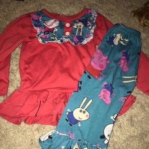 Other - Peppa pig girls boutique outfit